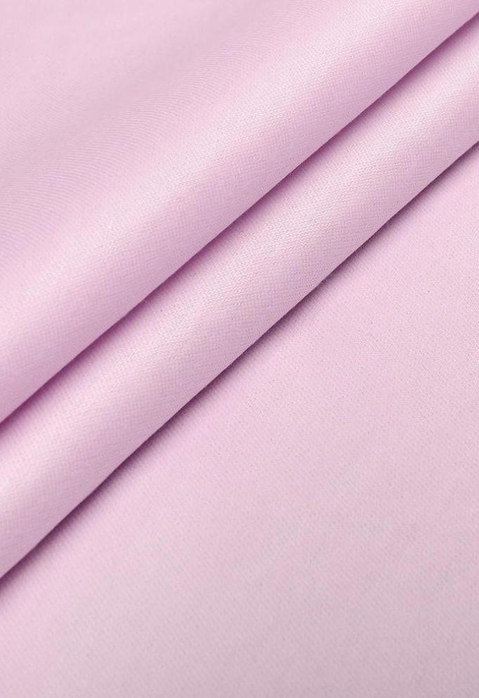 Ткань тик однотонный хлопок розовый 150 см