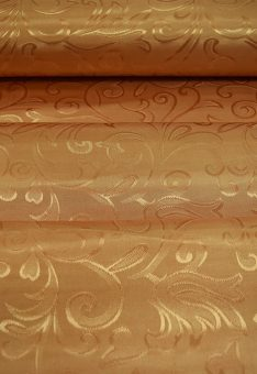 Ткань шторная полиэстр Золото