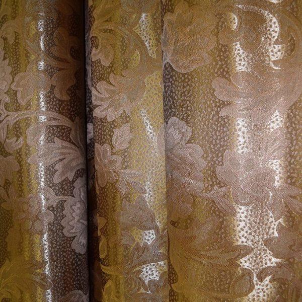 Ткань шторная полиэстр шоколад