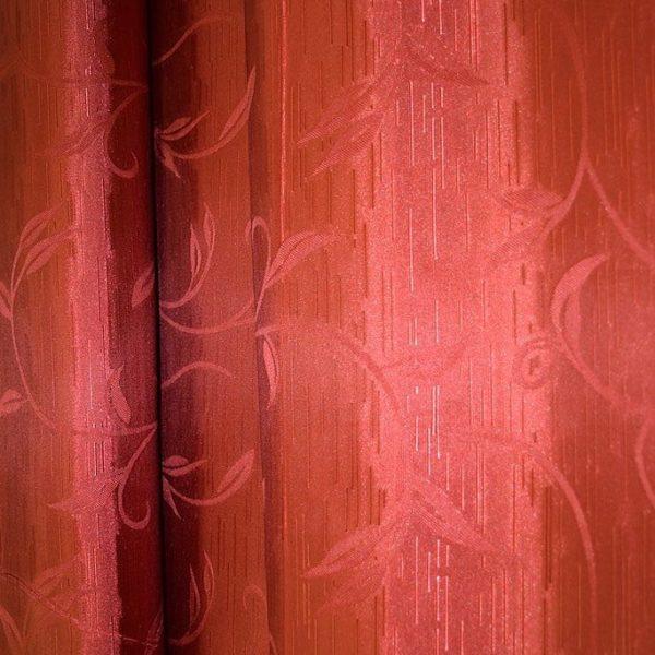 Ткань шторная полиэстр Бордо