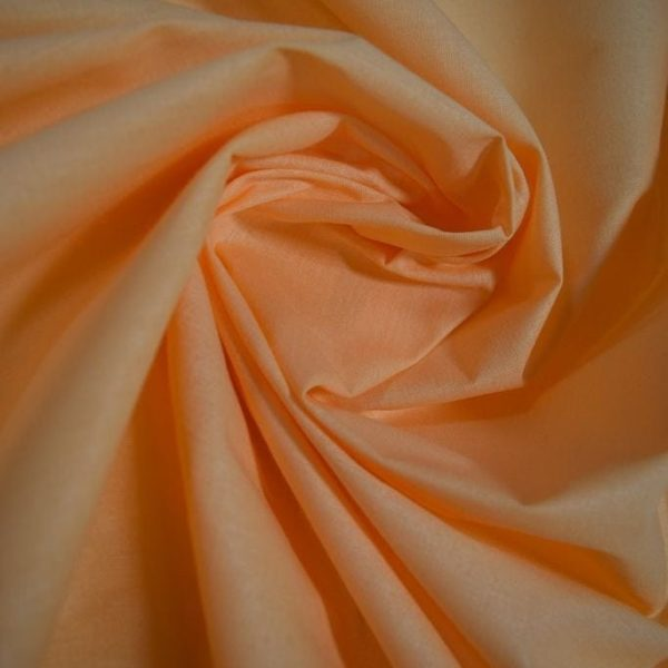 Ткань персиковая хлопок