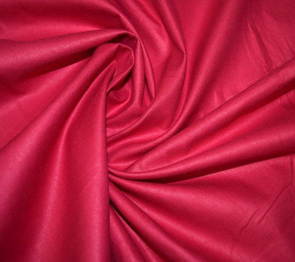 Ткань хлопок сатин Фуксия однотонный 160 см ширина