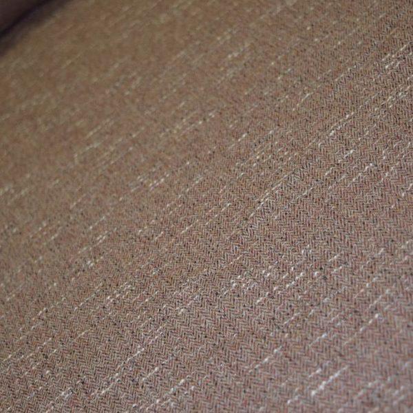 Ткань полушерстяная бежево-розовая костюмная Италия 150 см ширина