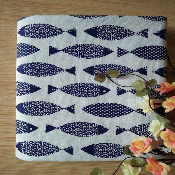 декоративный лен рыбки