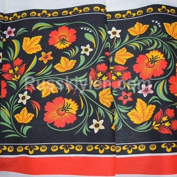 Русско народная ткань