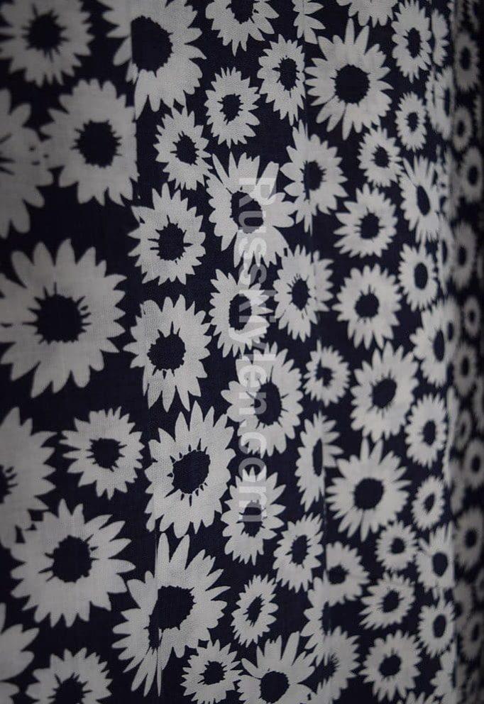 Ткань с цветами