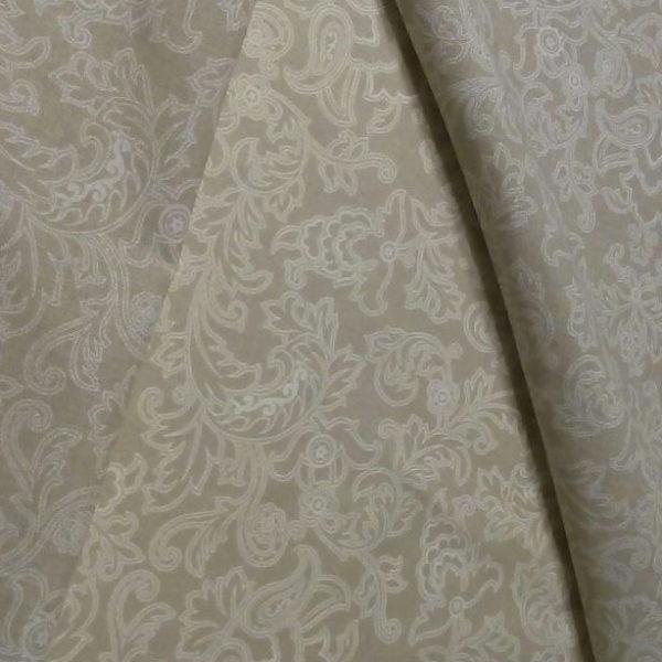 Ткань белые узоры