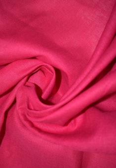 Ткань лен полулен Фуксия умягченный однотонный 150 см ширина
