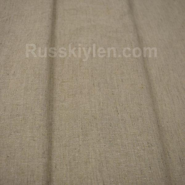 Ткань лен полулен небеленый 220 см