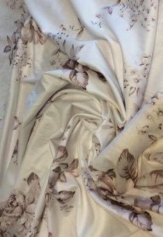 Ткань хлопок с цветами
