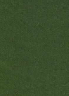 Лен зеленый однотонный