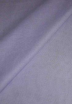 Ткань сиреневый лен полулен однотонный