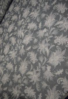Ткань сатин серый