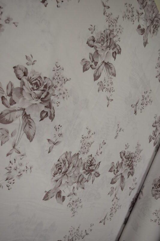Сатин хлопок 220см ширина розы