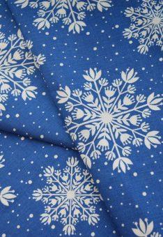 ткань снежинки