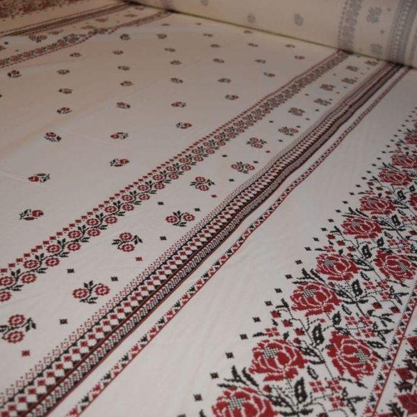 ткань вышиванка льняная