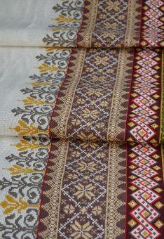 ткань вышиванка