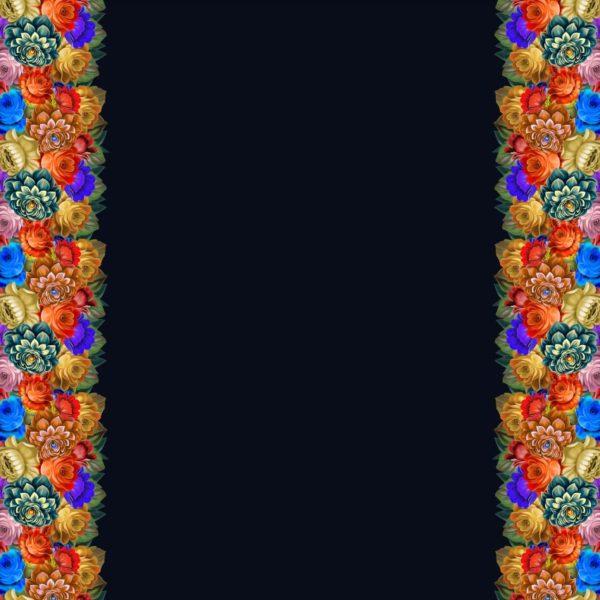 Ткань атласная жостово