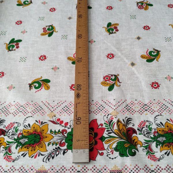 славянская ткань хохлома