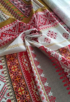 вышиванка ткань
