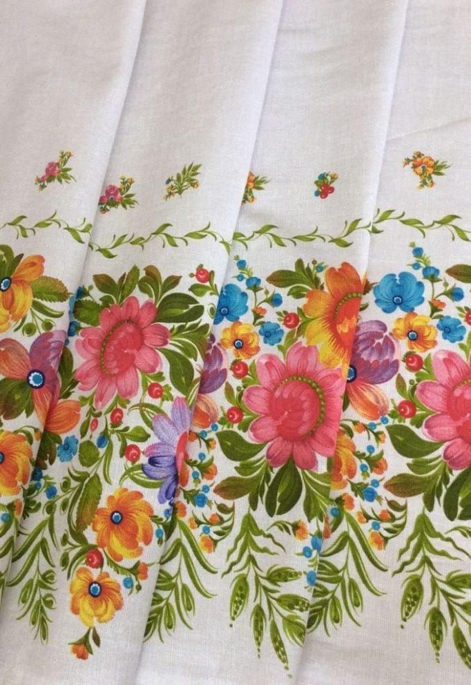 петриковская роспись ткань