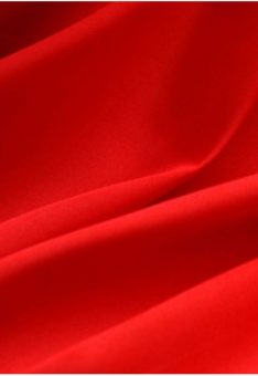 ткань красная бязь