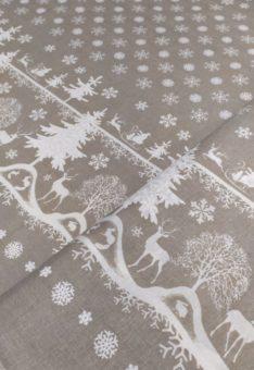 Ткань новогодняя