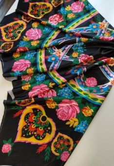 павловопосадский платок ткань
