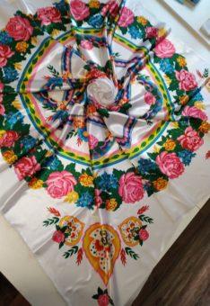ткань павловопосадский платок