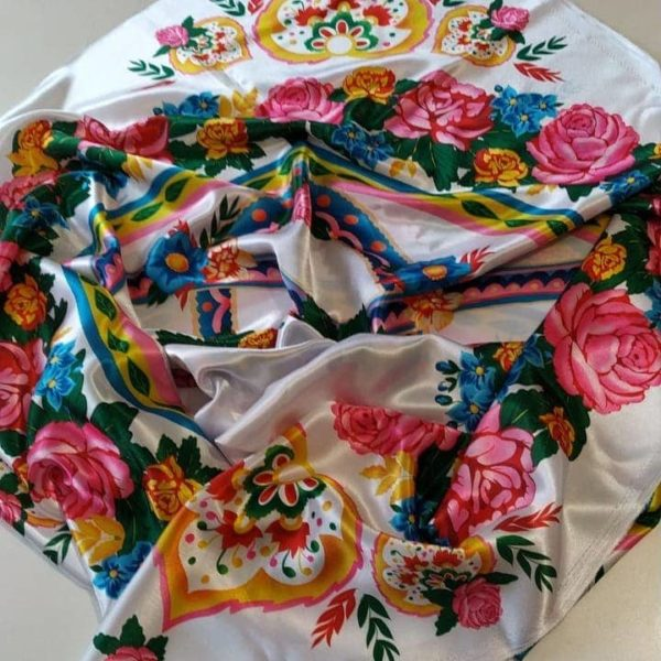 костюм из павловопосадского платка