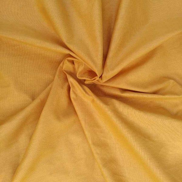 Лен горчица ткань