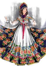 Идеи народного костюма