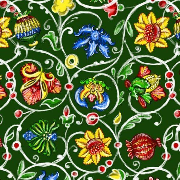причудливые русские цветы