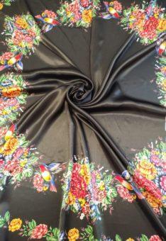 Ткань Жостово по кругу для юбки солнце