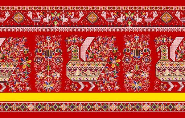 Каргопольская вышивка