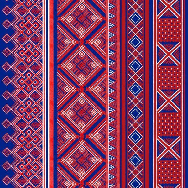 ткани с русским орнаментом