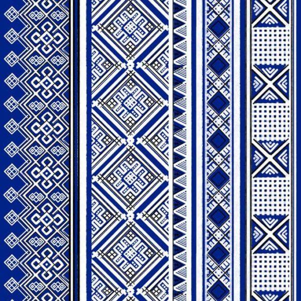 ткань с русским орнаментом