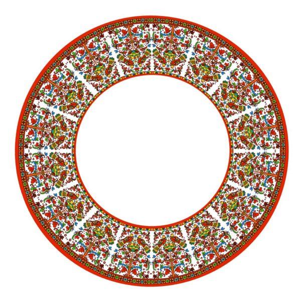 Ткань борецкая роспись
