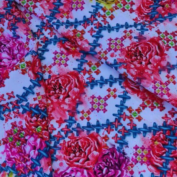 цветы и вышивка
