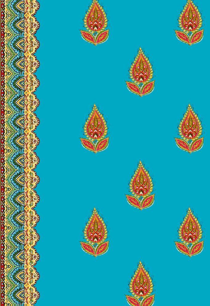 Ткани с русскими цветами